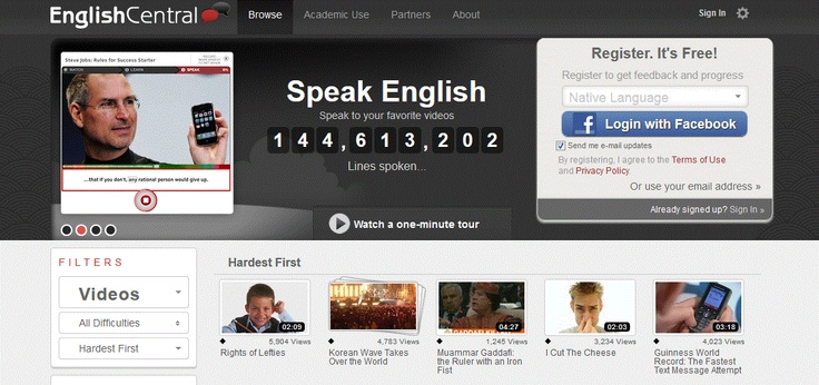Top 5 English language learning websites