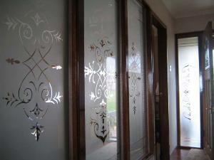 victorian glass etched kilsyth scotland