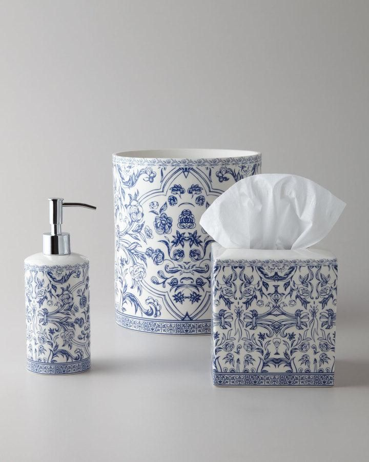 crystal bathroom accessories sets%0A Kassatex Orsay Vanity Accessories  Select color when ordering