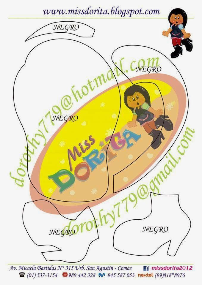 Miss Dorita: Moldes Miss Dorita(1)
