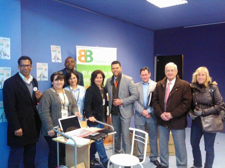 Grupo de Agentes del @Sistema Boca&Boca (Oficial) presentes en @EmprendeMarket