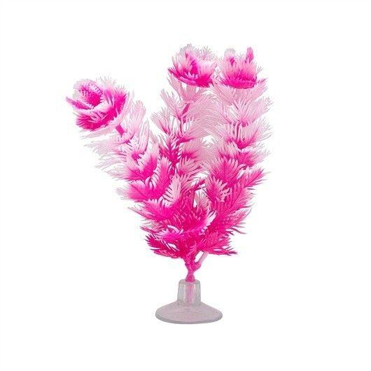 Plantas Plasticas con Ventosa Foxtail  MARINA 12,5 cm - #FaunAnimal Plantas Plasticas con Ventosa son plantas de aspecto natural que ondulan en la corriente de agua al igual que las plantas vivas.