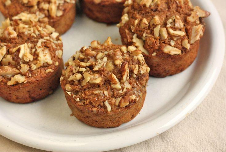 banana muffins #blissfulchef | Veggie Breakfast | Pinterest