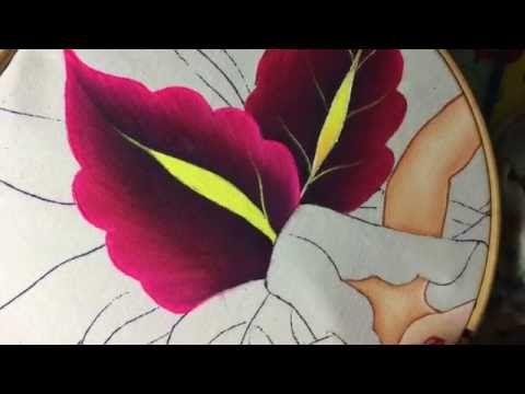 821 mejores imgenes de Videos pintura en tela con cony rico en