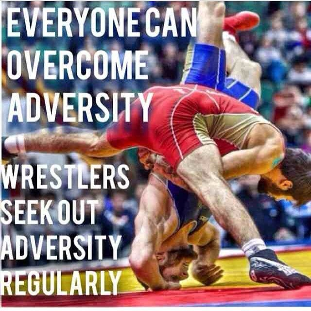Wrestlers seen out more adversity then others just to test their will and might #wrestling #worldcup #wrestle4gold #ilovewrestling #passionforwrestling #usawrestling #MentalToughness #Movtiaton via cy_young_