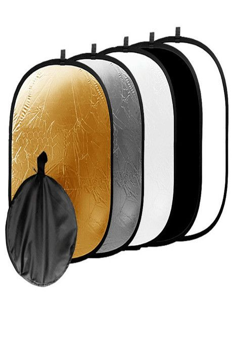 SCR60 Giant 5-In-1 Oblong Photography Reflector 40in x 60in (can be used for backdrop)