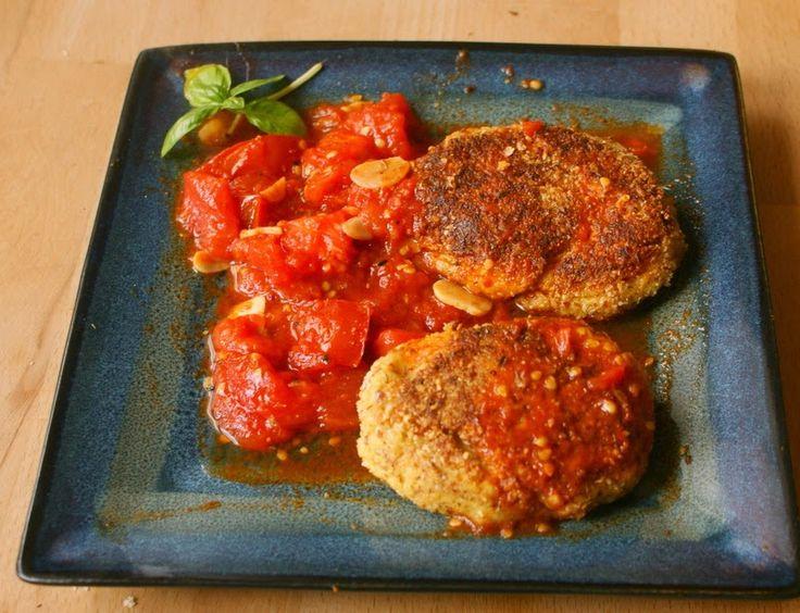 Zdrowo zakręcona: Pyszne wegańskie i bezglutenowe kotlety z selera i jaglanki