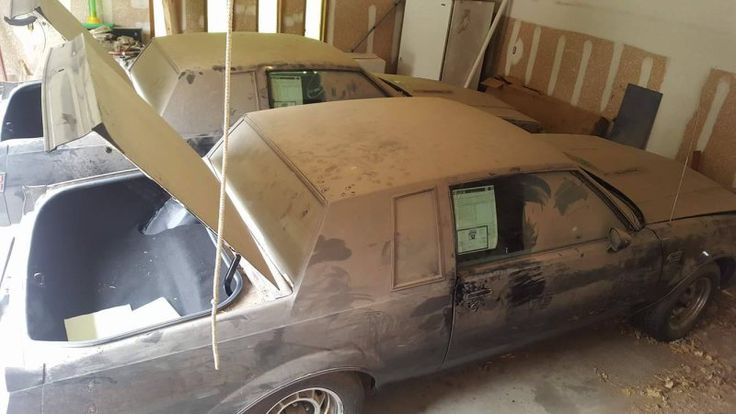 Two nearly new 1987 Buick Grand National 'twins' found in garage after 30 years - Autoblog