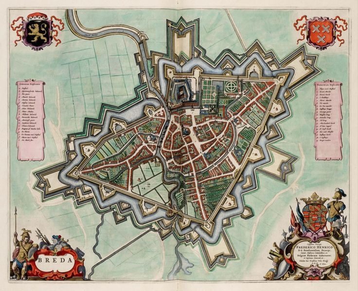 Joan Blaeu, c. 1600s, Breda, the Netherlands