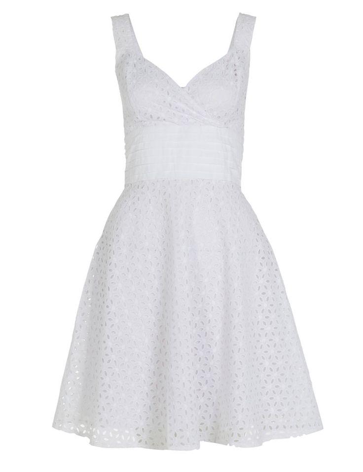 Voodoo Vixen billie blush white dress witte jurk 50s look