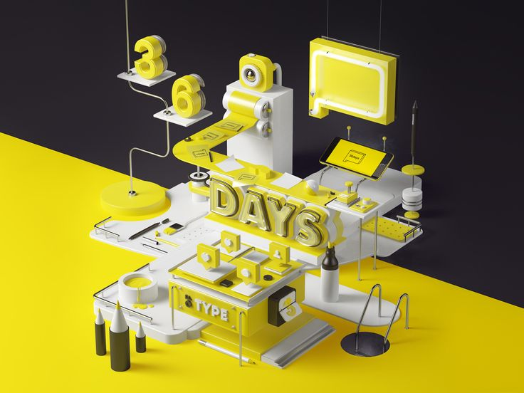 Images to present the third edition of 36 Days of Type.