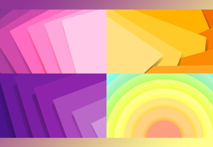 Amazing Set of 40 Material Design Backgrounds