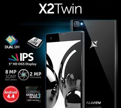 Спечелете смарт телефон X2 Twin!
