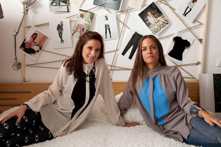 Girls photoshoot in the KNLs Tina shirts @ http://www.theknls.com/en/16-shirts
