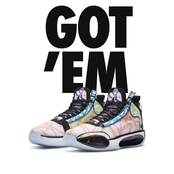 Air Jordan Xxxiv Zion Williamson Pe Coloring Book In 2020 Air Jordans Jordans Kids Shoes
