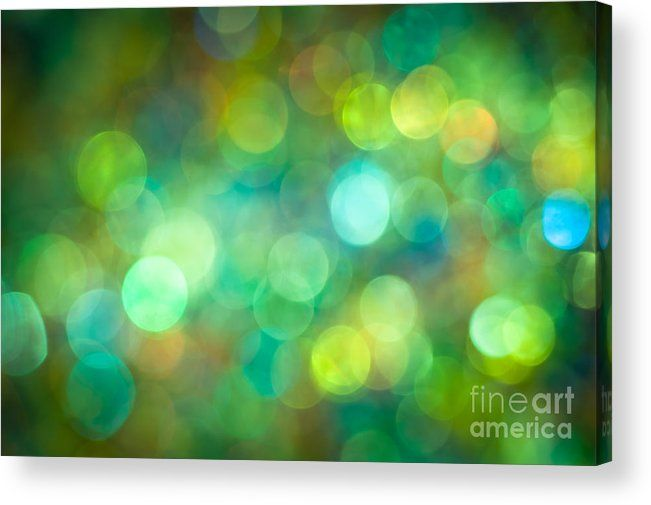 Morning Meadow Acrylic Print by Jan Bickerton.  All acrylic prints are professionally printed, packaged, and shipped within 3 - 4 business days and delivered ready-to-hang on your wall. Choose from multiple sizes and mounting options. #green #AbstractArt #Art