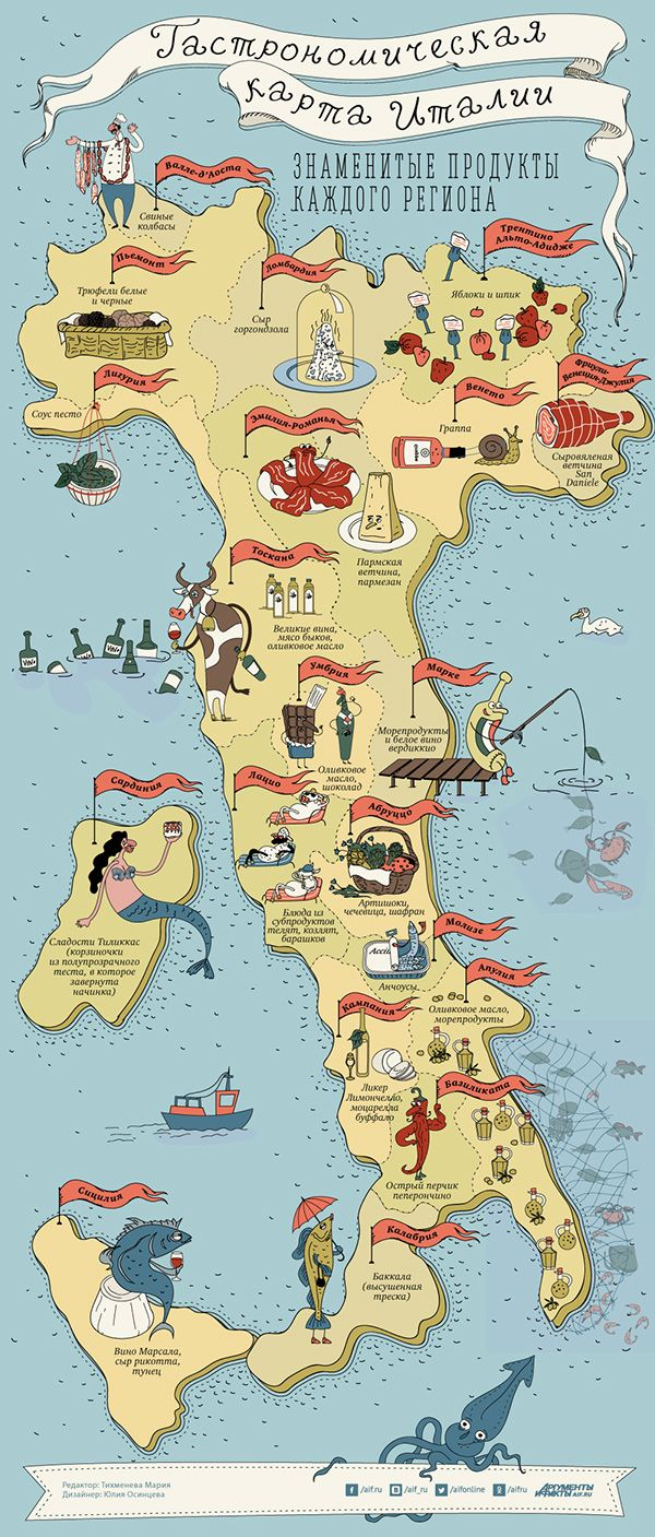 Gastronomic map Italy TuscanyAgriturismoGiratola 110 best Map