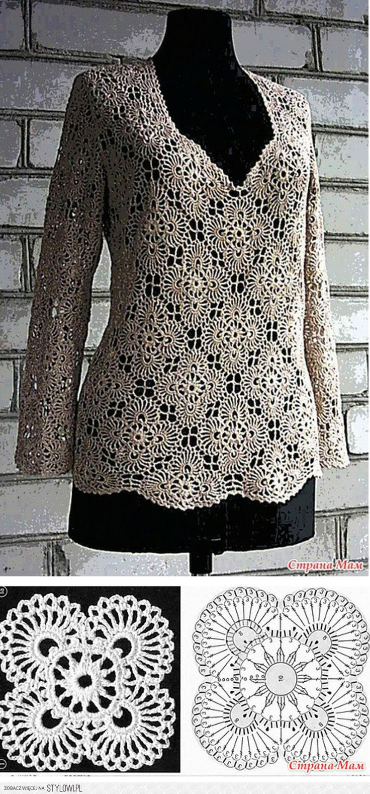 Motif Top - Free Crochet Diagram - (stylowi)