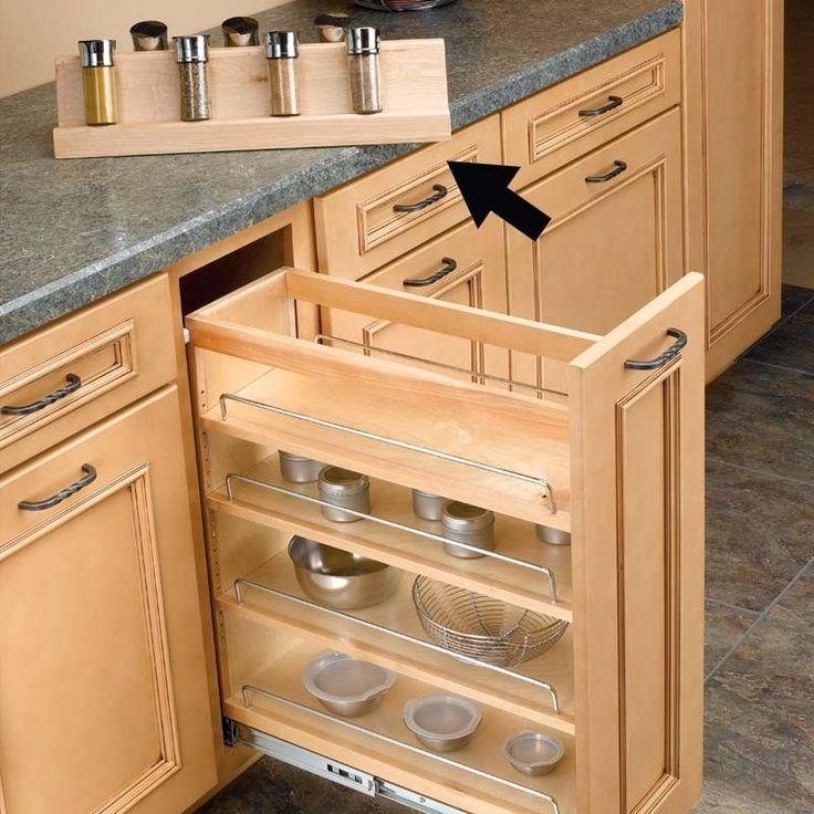 Rev-A-Shelf Rev A Shelf Spice Rack For RV448BC11C 448-SR11-1