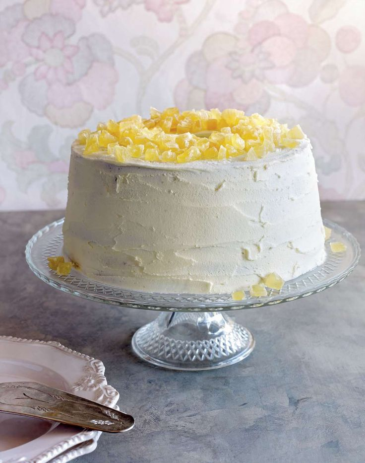 Pineapple chiffon cake by Yasmin Newman from 7000 Islands | Cooked