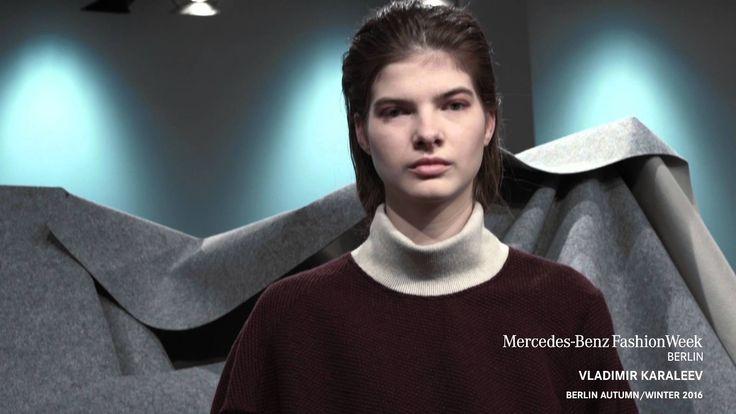 VLADIMIR KARALEEV A/W 2016 presentation during Mercedes-Benz Fashion Week Berlin