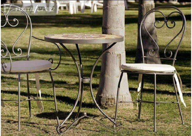 Silla y mesa de forja modelo cordoba turismorural - Forja en cordoba ...