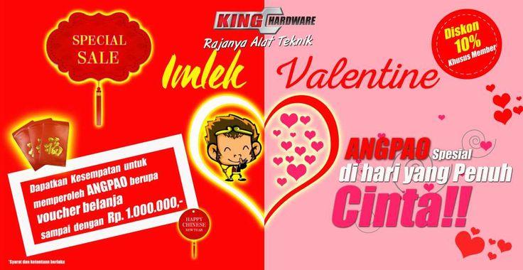 King Hardware Imlek Valentine