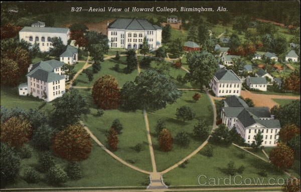 Howard College - East Lake campus - where my dad went to college. He met my mother at nearby Ruhama Baptist Church. Neither the college nor the church is still standing. Howard is now Samford University, having moved to Homewood in 1958.