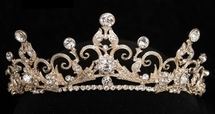 Affordable Elegance Bridal - Light Gold Rhinestone Princess Bridal Tiara 3450, $94.48 (http://www.affordableelegancebridal.com/light-gold-rhinestone-princess-bridal-tiara-3450/)