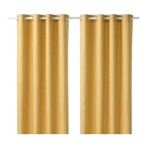 wohnzimmergestaltung ikea:IKEA – MARIAM, Curtains, 1 pair, , The ...