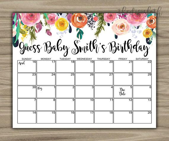 Calendar Design Baby : Best due date calendar ideas on pinterest baby