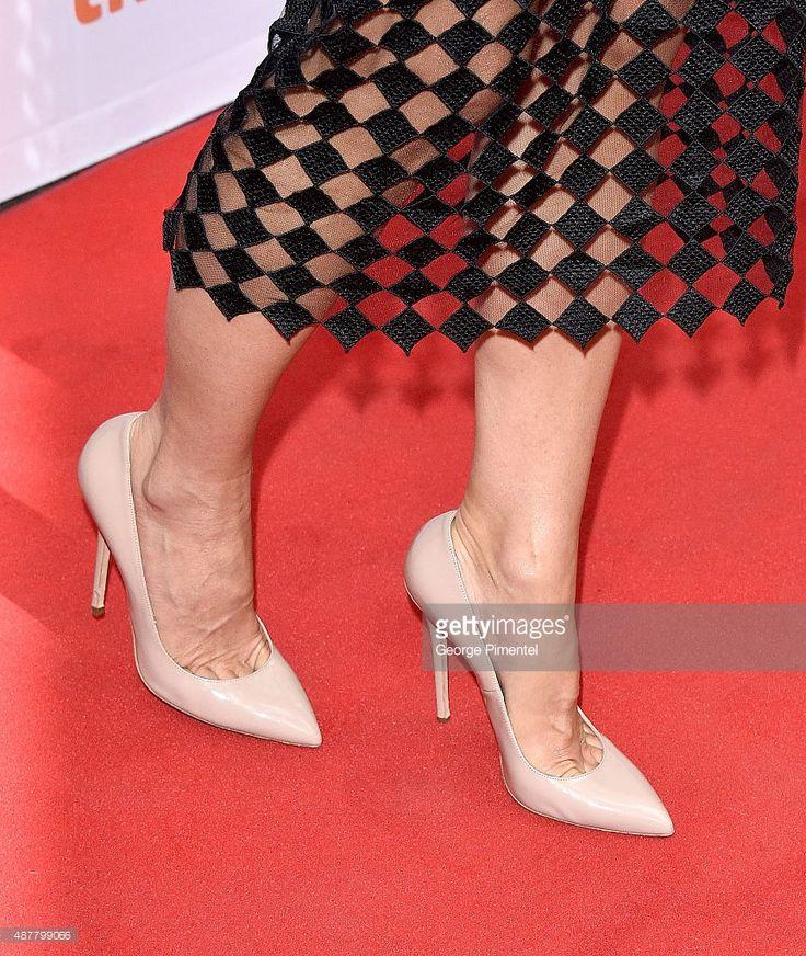 Photo d'actualité : Executive Producer/Actress Sandra Bullock, shoe...