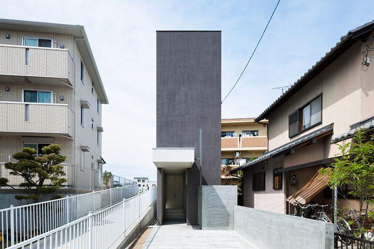 form/ kouichi kimura architects: slender promenade house