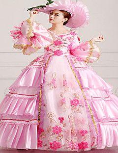 steampunk®top abito rosa vendita del vestito da partito vittoriano wholesalelolita rococò principessa abiti da ballo