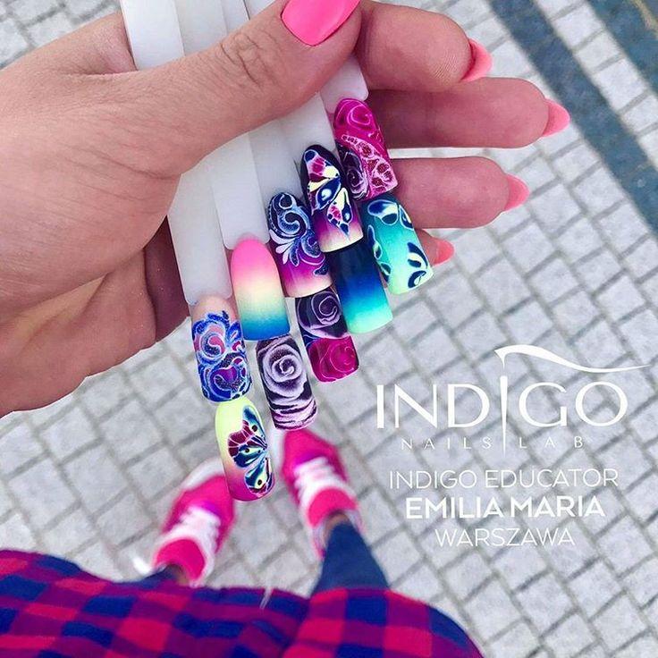 Kolorowe wiosenne inspiracje by Emilia Dąbrowska Indigo Educator 🌴🌸 #indigonails #indigolicious #amazingnails #wonderfulnails #hotnails #sexynails #wownails #deliciousnails #paznokcie #goodmorning #instafollowers #instalike #instalife #manicure #coolnails #effectnails #nailart #manicure #nailoftheweek #nailmania #nailstagram #nailstylist #nails4u #gorgeousnails #goodmorning #wonderfulnails #wownails #obsessionnails #nudenails #greynails