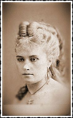"""This is Pauline Markham. - (1847-1919) - She had quite an interesting life as a singer, a burlesque dancer & a member of the Lydia Thompson troupe. Pauline supposedly had relations with several Northern Generals & Post Civil War Reconstructionists. She was also responsible for bringing to Tombstone, Josephine """"Sadie"""" Marcus. Sadie eventually became Wyatt Earp's common-law wife & was with him 46 years."""