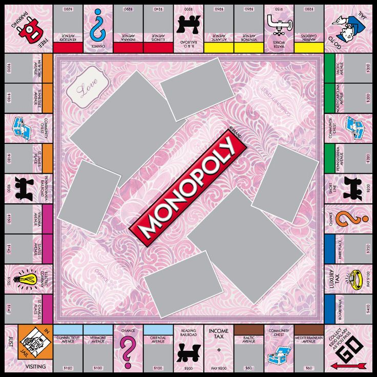 18 best images about monopoly game templates on pinterest