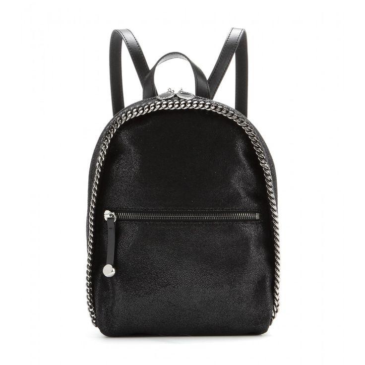 Stella McCartney - Falabella faux-suede backpack mini - mytheresa.com GmbH