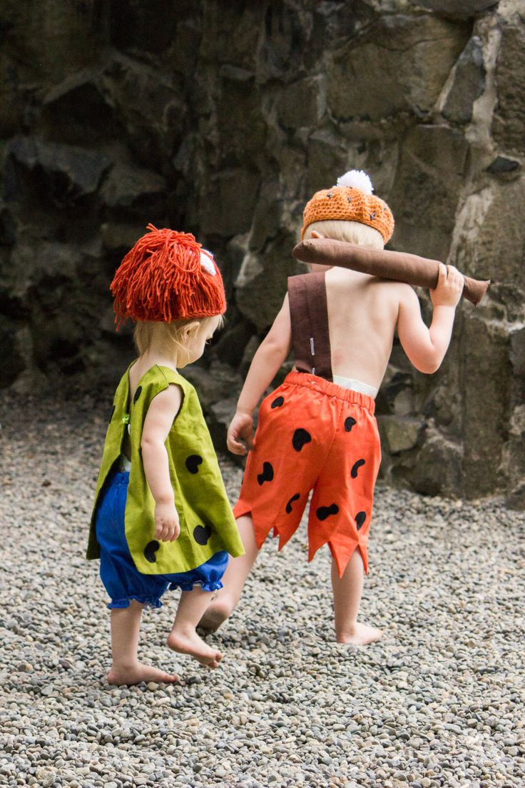 Flinstone Costume Bam Bam & Pebbles by MyPurplePrincessShop, $70.00
