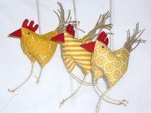 3 lustige Hühner