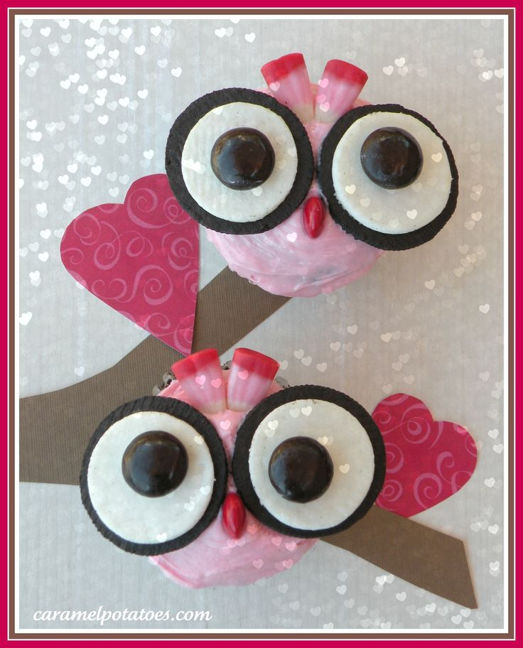 Owl Always Love You Cupcakes with printable gift tag