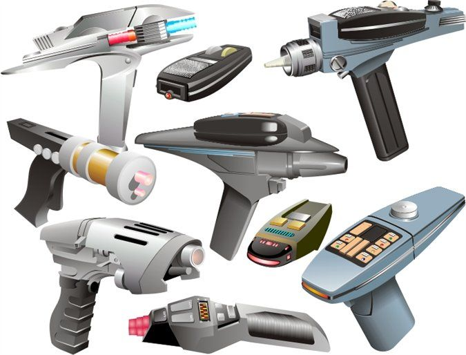 Star Trek Phasers
