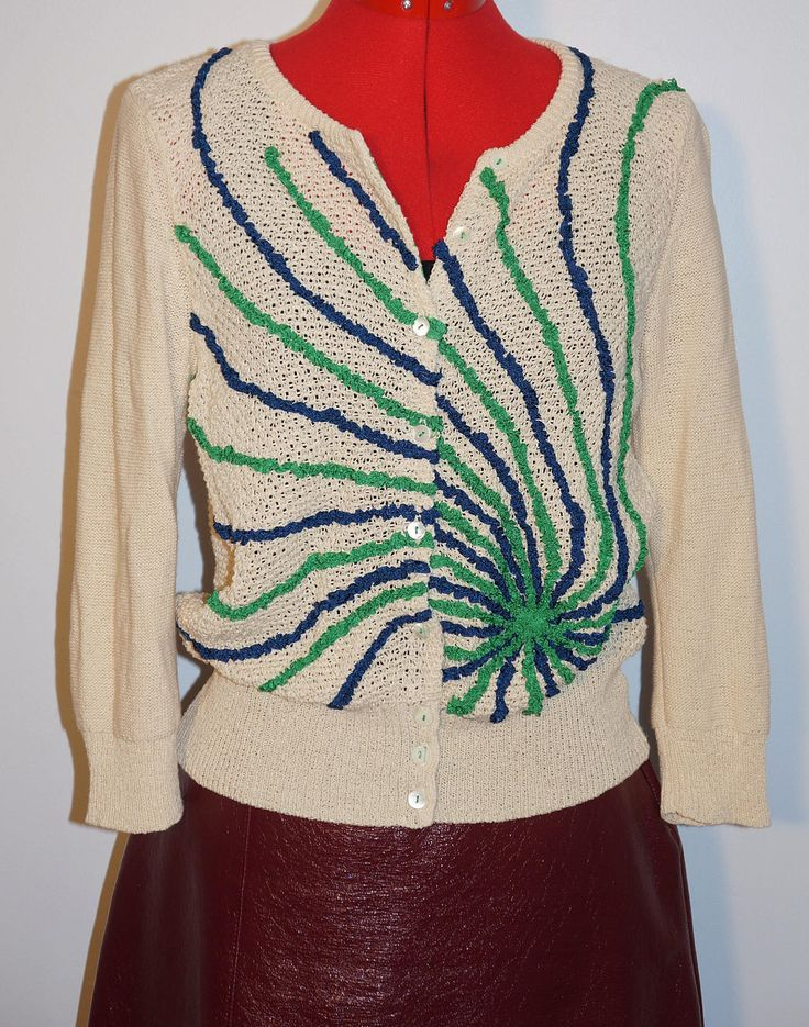 This unique cardigan has been added to the shop