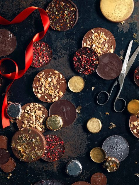 Use our finest chocolate to create your own chocolate coin stocking fillers, recipe via @jamieoliver #MoreThanJustChocolate