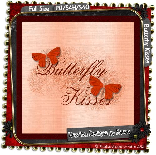 Butterfly Kisses By Kreative Designs by Karen