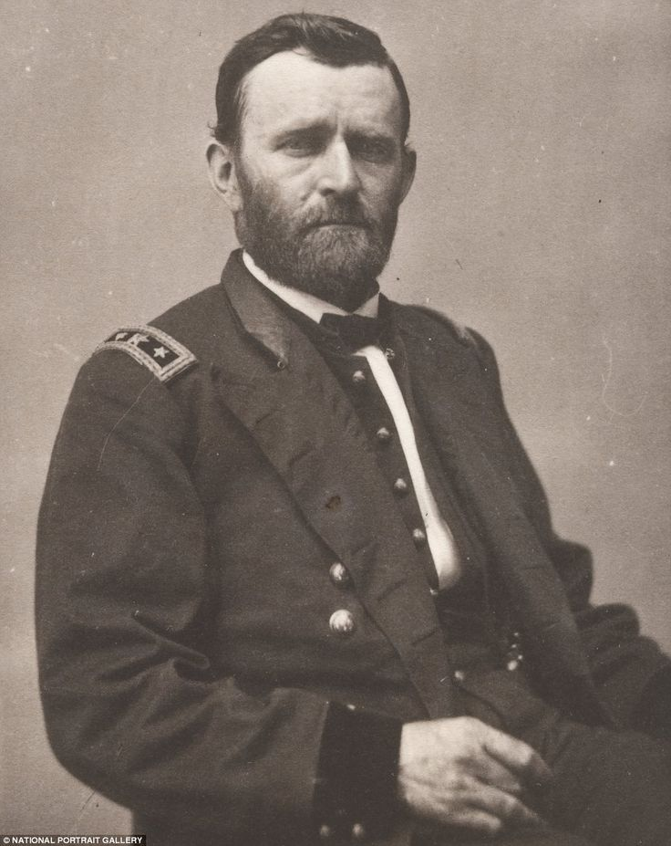 Ulysses S. Grant, General Commanding Union Armies, later President of the United States of America.