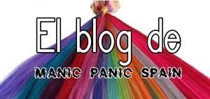 Galería de los diferentes colores de los tintes Manic Panic. Carta de color completa de los tintes Manic Panic. Tinte de pelo rosa, tinte de pelo morado, tinte de pelo azul, tinte de pelo verde, tinte de pelo lila, tinte de pelo rojo, tinte de pelo fucsia