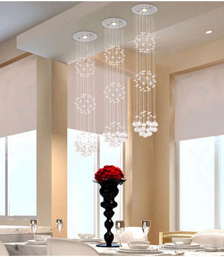 Modern Crystal Chandeliers Ceiling Pendant Lamp Living Room Lights Dining Chandelier And Pendants Drop Wholesale Lamps
