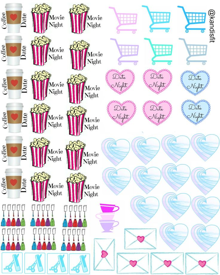 My Life Planner Stickers