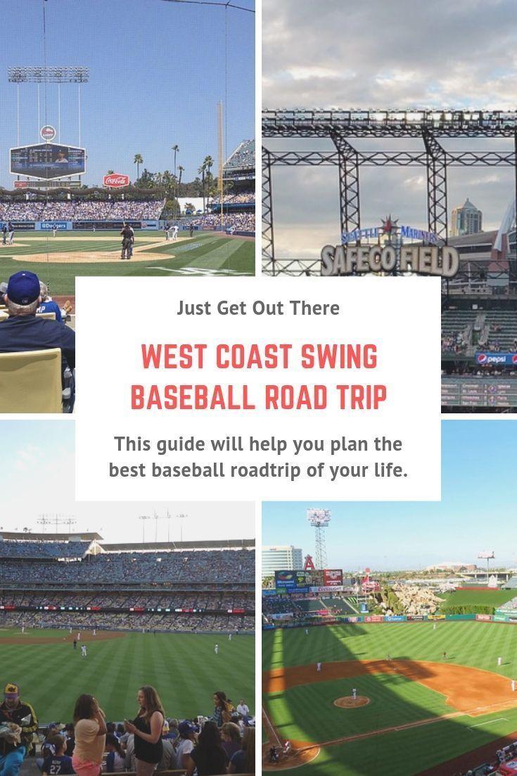 West Coast Swing Baseball Road Trip Guide